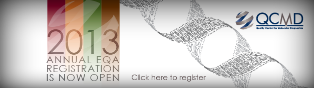 2013 Annual EQA Registration