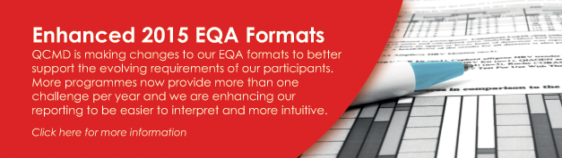 New 2015 EQA Report Format